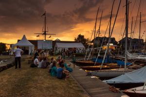 Gamle Swede - Regatta Abendstimmung